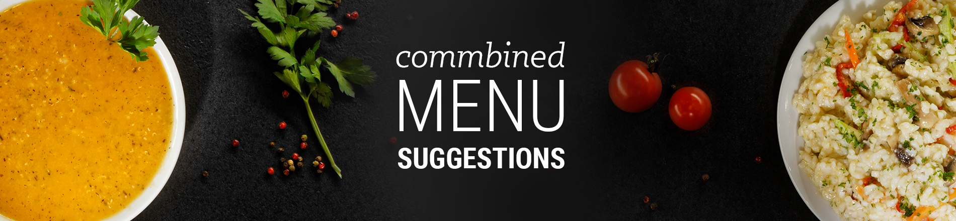 Combined Menu Suggestions